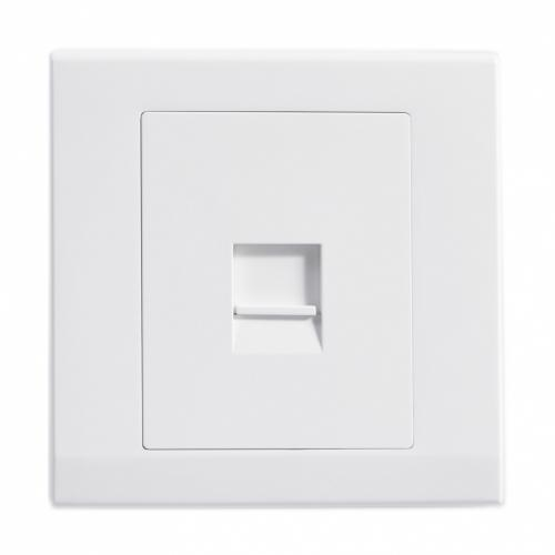Retrotouch Simplicity Single BT Master Telephone Socket (White)