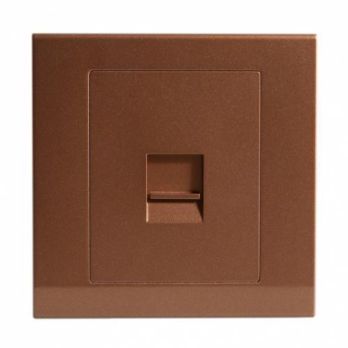 Retrotouch Simplicity Single BT Master Telephone Socket (Bronze)