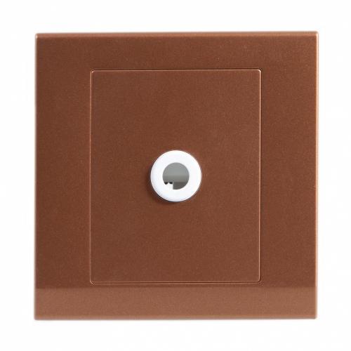 Retrotouch Simplicity 25A Connection Unit Flex Outlet (Bronze)