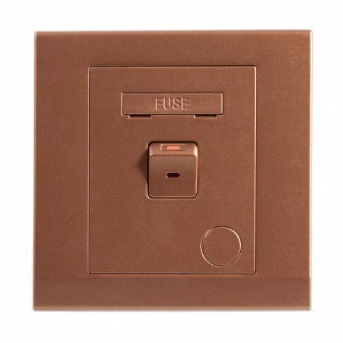 Retrotouch Simplicity 13A Switched Fused Connection Unit (Bronze)