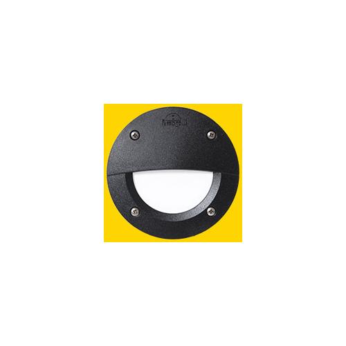 FUMAGALLI LETI 100 ROUND EL BLACK OPAL GX53 LED 3W CCT SET FUMAGALLI STEPLIGHT (Black)