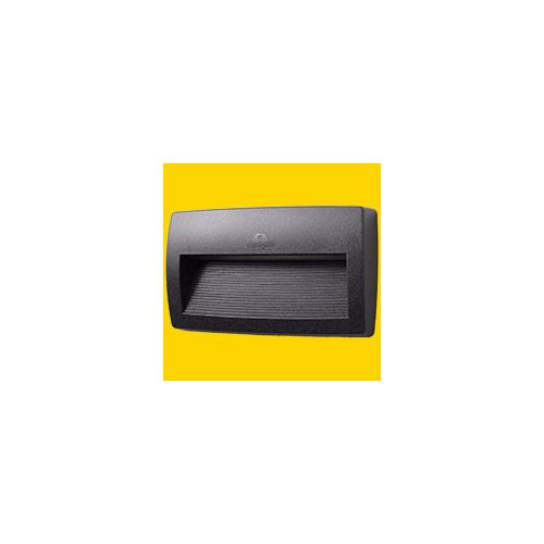 Fumagalli Lorenza 270 Black Clear R7S Led 11w 4k Fumagalli Wall Light (Black)