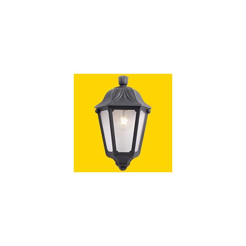 Fumagalli Iesse Black Clear E27 Fumagalli Classic Lantern Small (Black)