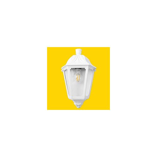 Fumagalli Iesse White Clear E27 Fumagalli Classic Lantern Small (White)