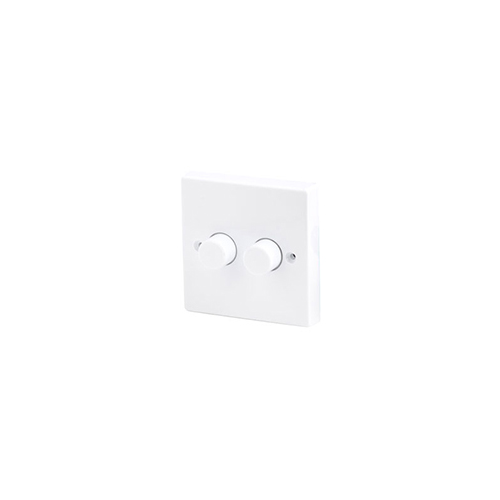 Robus ROBUS 100W LED Dimmer Switch, 2Gang 2 Way