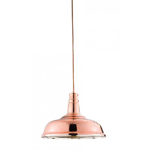 Rocamar Copper And Glass Single Pendant: Saxby Lighting Jackman 1lt Pendant 60W 61705 UK