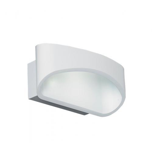 Saxby Lighting Johnson 5W LED Wall Light (Matt White)