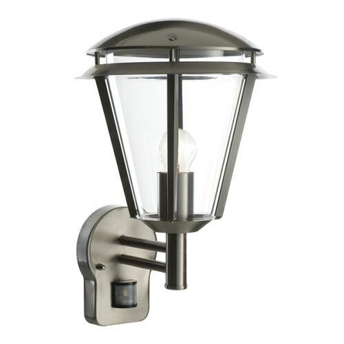 Saxby lighting Inova pir wall light, outdoor pir lanterns, 49945 UK