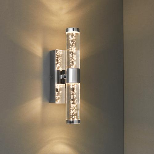 Endon Lighting Essence 2lt wall IP44