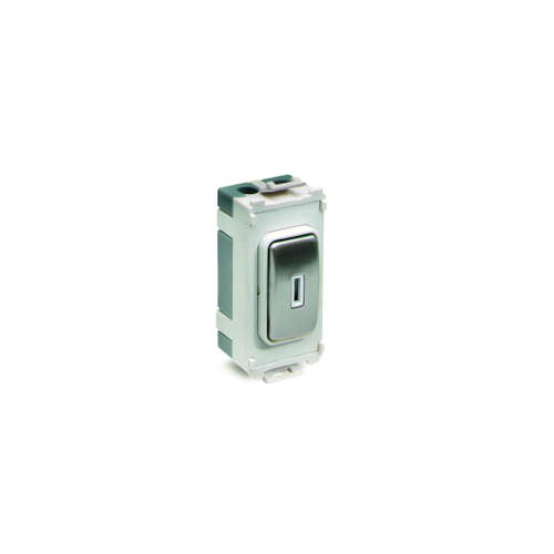 Schneider Electric Ultimate 20AX 2 Way Key Switch Grid Module (Polished Chrome)