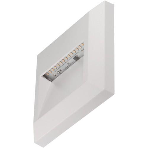 Timeguard 1.1W Square Step Light (White)