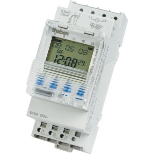 Timeguard Solar Timeswitch 2 Channel White