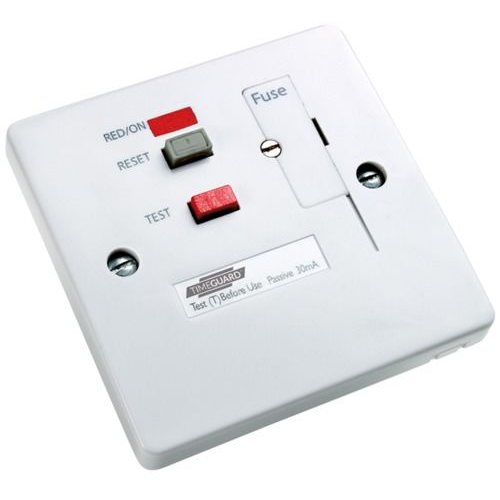 Timeguard Rcd White Fused Connector Unit Socket