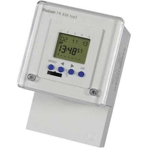 Timeguard 24HR/7 Day (2 Channel) 6A Electronic Timeswitch White