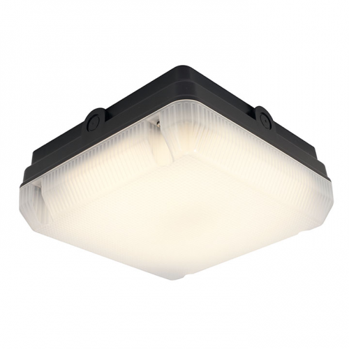 Ansell astro 14w led bulkhead security lighting aaled2bvmws uk ansell astro 14w ip65 led bulkhead with microwave sensor black mozeypictures Image collections