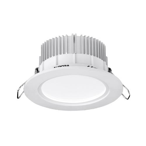 Aurora Lighting IP44 Fixed 13W Dimmable LED Downlight (White)  sc 1 st  Direct Trade Supplies & Aurora Lighting IP44 LED downlight fixed LED downlight AU ... azcodes.com