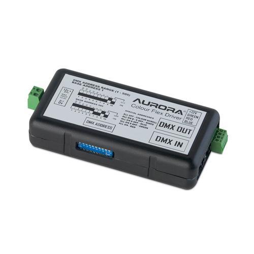 Aurora Lighting 60W DMX Colour Changing LED Remote Controller (Black)