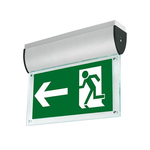 aurora lighting led exit sign emergency led exit signs au emled21 uk