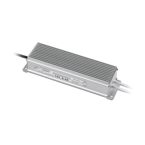 Aurora Lighting 2 x 50W IP67 12V DC Constant Voltage LED Driver (Silver)