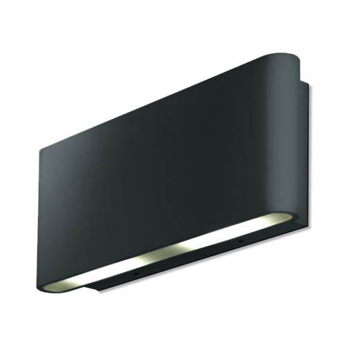 Aurora Lighting 240V Aluminium IP54 Fixed Up/Down LED Wall Light (Black)  sc 1 st  Direct Trade Supplies & IP54 Fixed LED Wall Light Wall Lights AU-WAL512BLK Aurora ... azcodes.com