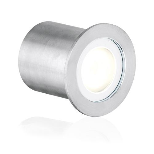 Aurora 350mA Stainless Steel 316 IP68 Fixed LED Marker Light (Warm White)