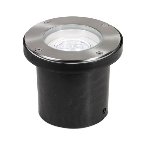 Aurora Lighting 240V IP67 Adjustable 3 x 3W LED Walkover Light (Black)