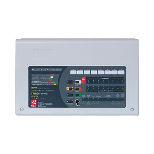 C-Tec CFP Conventional Economy 4 Zone Fire Alarm Panel (White)