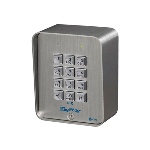 CDVI Access Control Standalone 100 User Keypad (Stainless Steel)