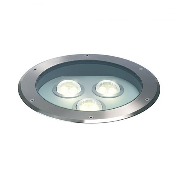 Collingwood Triple Led Driver Over Light Stainless Steel