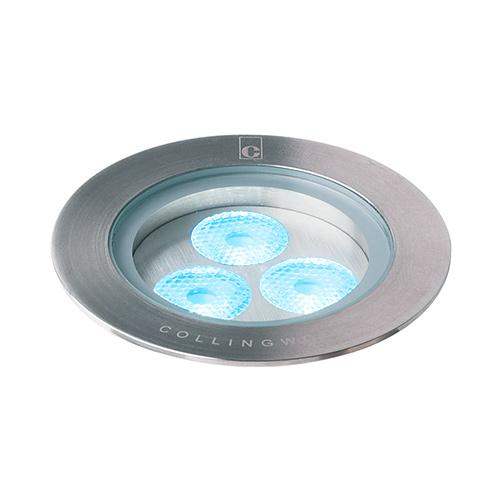 Collingwood 7W LED Ground Light (Stainless Steel)