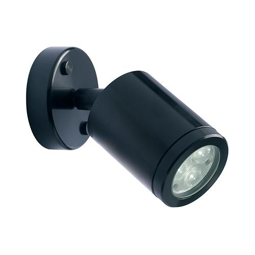 Collingwood led spotlight led wall lighting wl020a blk s nw uk collingwood wall mounted 3w led spot wall light black aloadofball Image collections
