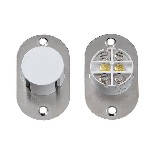CQR Flush 6T Grade 1 2 Reed Metal Plate (White)