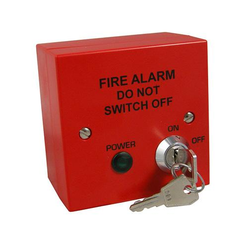 fire alarm mains isolation key switch  indoor fire panels  t2 fai Fused Power Switch System Fused Lighted Rocker Switch