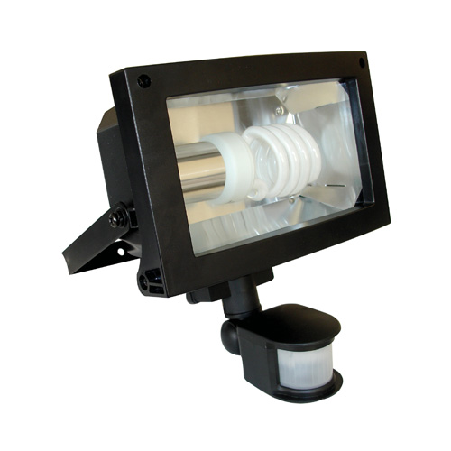Eterna 23w low energy pir floodlight exterior floodlights fl124bpir uk eterna low energy pir floodlight black aloadofball Images