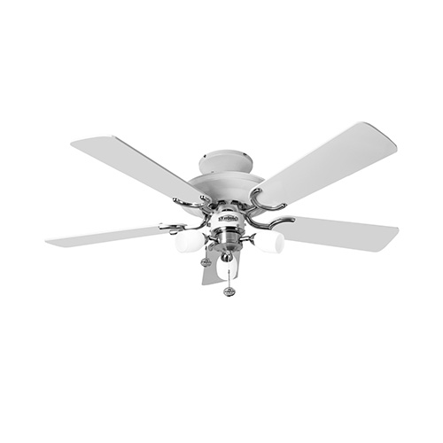 Fantasia mayfair combi 42 inch ceiling fan light ceiling fans fantasia mayfair combi 42 inch ceiling fan light gloss white aloadofball Image collections