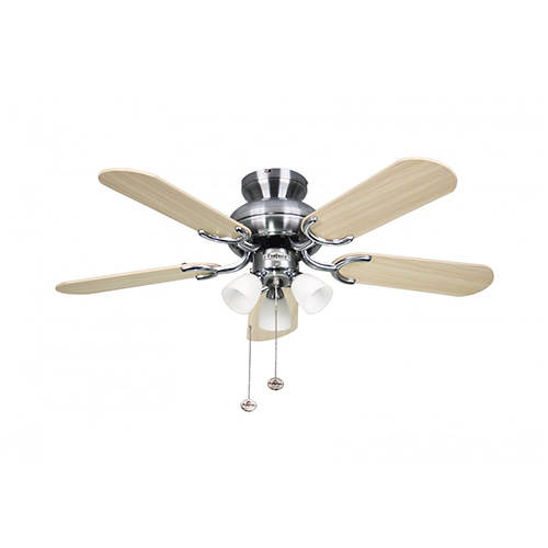 Oak Ceiling Fans With Lights : Fantasia amalfi quot ceiling fan light with