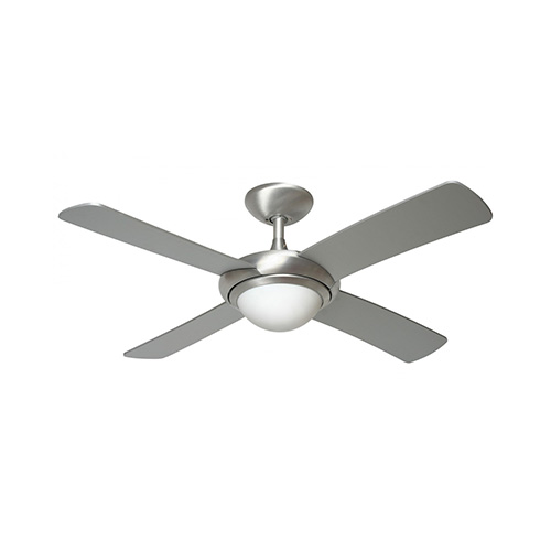 Fantasia orion 44 inch ceiling fan light interior ceiling fans fantasia orion 44 inch ceiling fan light brushed aluminium aloadofball Image collections