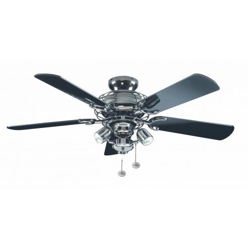 Fantasia Gemini Combi 42 Inch Ceiling Fan with Light (Pewter/venice Light Kit)