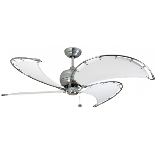 Fantasia Spinnaker 40 Inch Ceiling Fan Without Light Ss Stone Blades