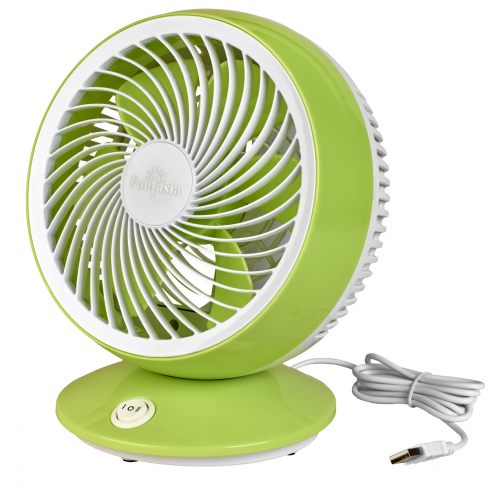 Fantasia Usb Desk Fan (Green/white)