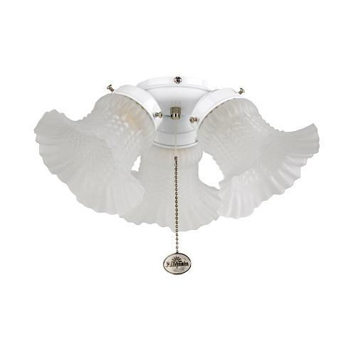 Fantasia tulip ceiling fan light shade indoor ceiling fans 550259 uk fantasia tulip replacement light shade with neck aloadofball Image collections