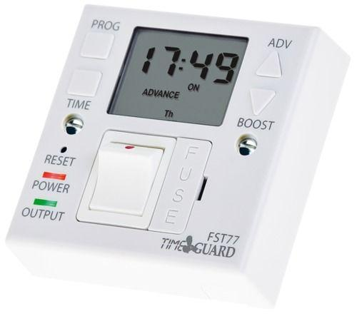 Timeguard Supply Master 7 Day Fused Spur Time Switch (White)