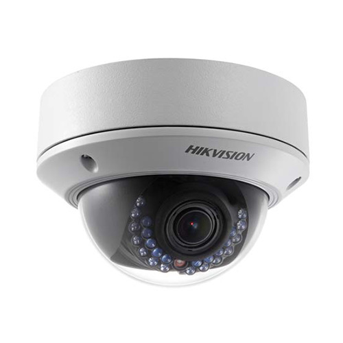 Hikvision 2MP 2.8-12mm Lens IP Ext Dome Camera (White)