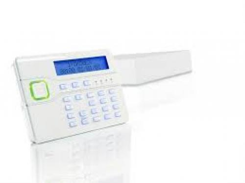 Scantronic I-ON50EXDKP control panel with KEY-KP01