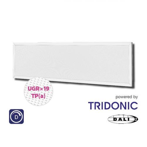 NET LED Kingston UGR 19 Tri-colour Pnl 1200x300 30W Tp(a) Dimmable