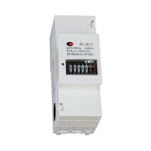 Lewden 65A KWH Meter 2 Module (White)