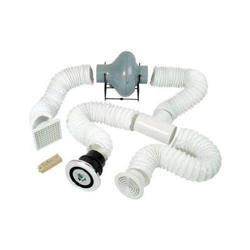 Manrose Pro Showerlite Centrifugal Shower Fan Kit (Chrome)