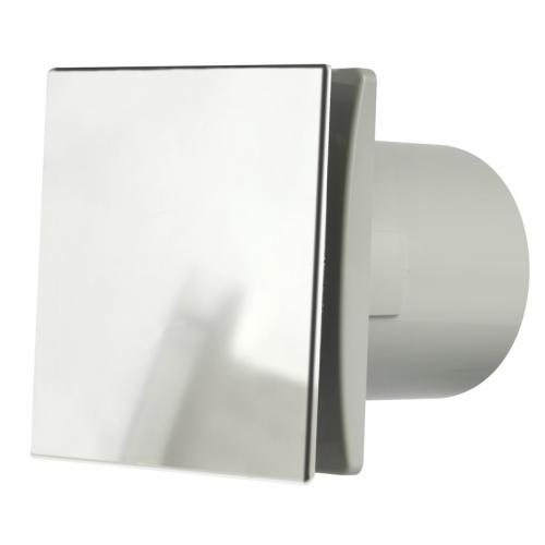 Chrome Bathroom Fan : Manrose low profile extractor fan bathroom fans