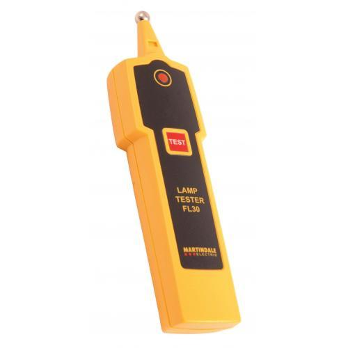 Martindale FL30 SON, SOX, MBFU, MBI and Fluorescent Tube Tester (Yellow)
