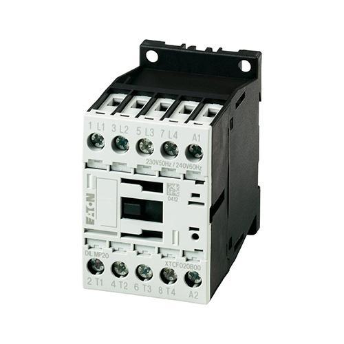 Moeller 240V Contactor (Black/White)